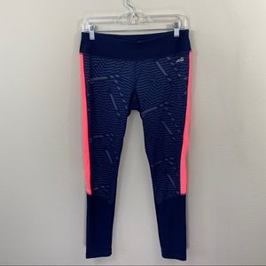 Avia navy/pink workout pants